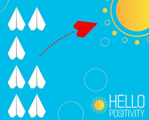 Living an unexpected life - hello positivity